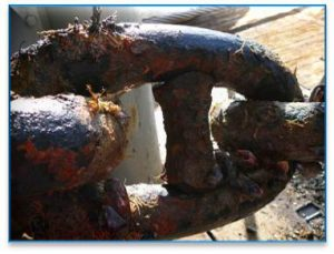 mooring line failure